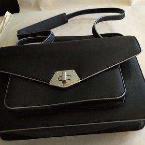 Nine West PVC  BlackShoulder Bag